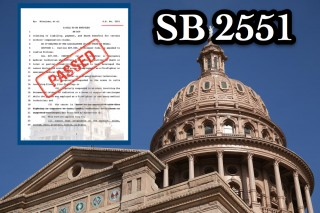 Governor Abbott signs SB 2551 into law