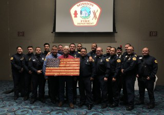 Lt. Lopez Retires after 20 years of Service